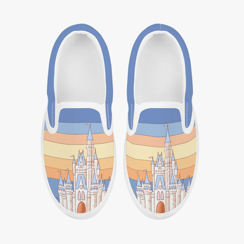 Kids Retro Slip-On