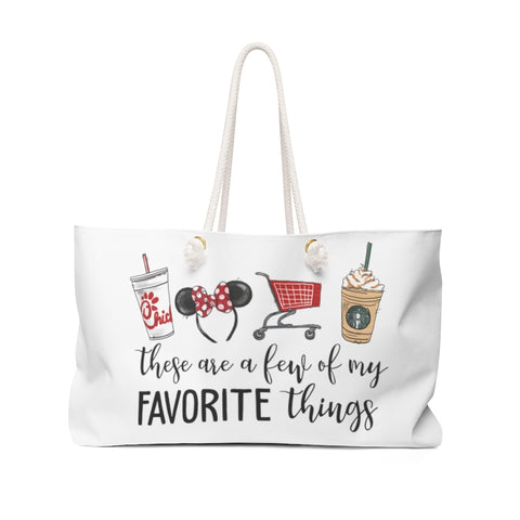 Favorite Things Weekender Bag