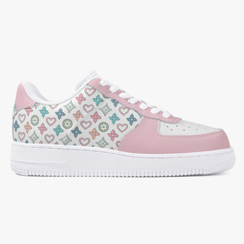 Multi Monogram Leather Low Top