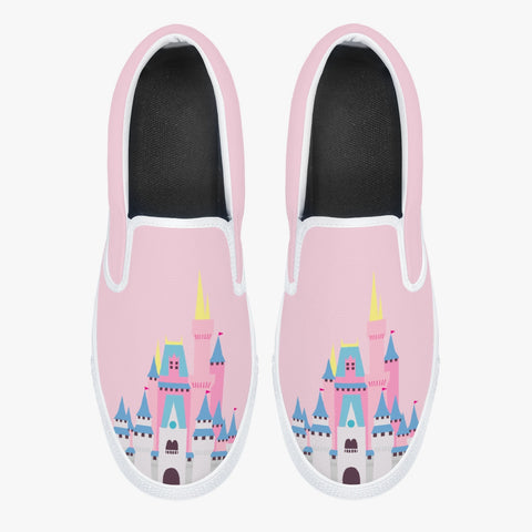 Pink Castle Classic Slip-On