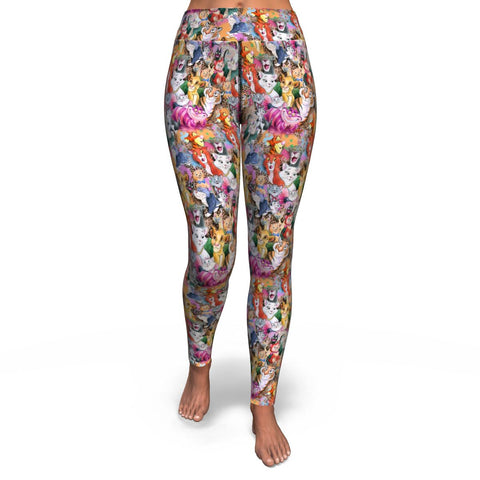 Meow Yoga Leggings