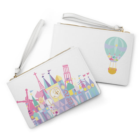 Little World Clutch Bag