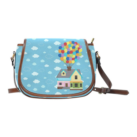 Balloon House Crossbody Bag