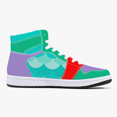 Mermaid Leather Hightops