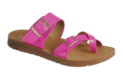 Fuchsia Resort Sandal
