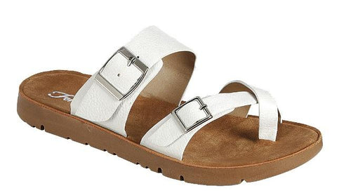 White Resort Sandal
