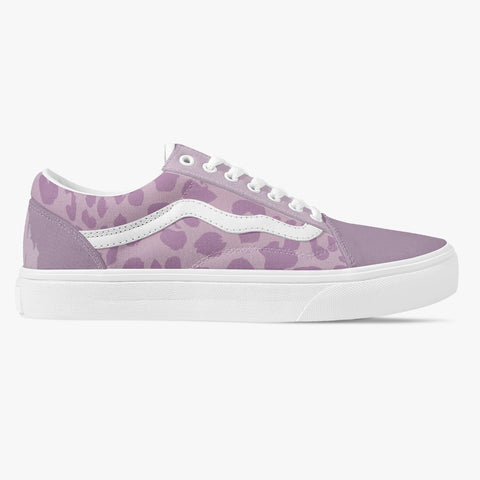 Purple Leopard So Cal Sneakers