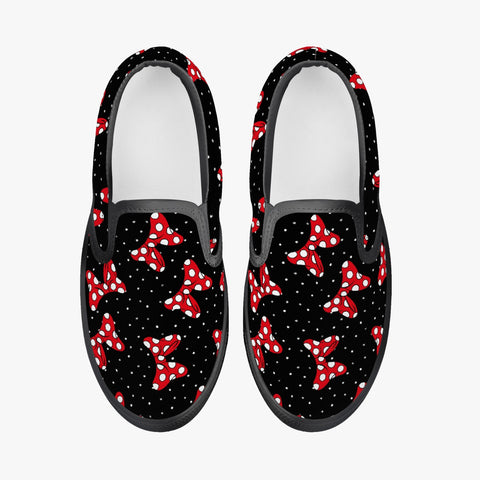 Kids Bow Slip-On