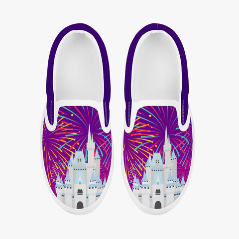 Kids Fireworks Castle Slip-On