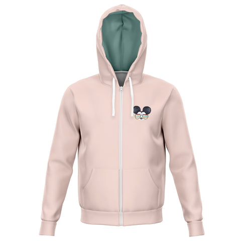 Best Day Pink Athletic Hoodie