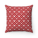 Monogram Mouse Square Pillow Case