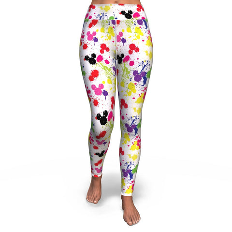 Paint Yoga Leggings