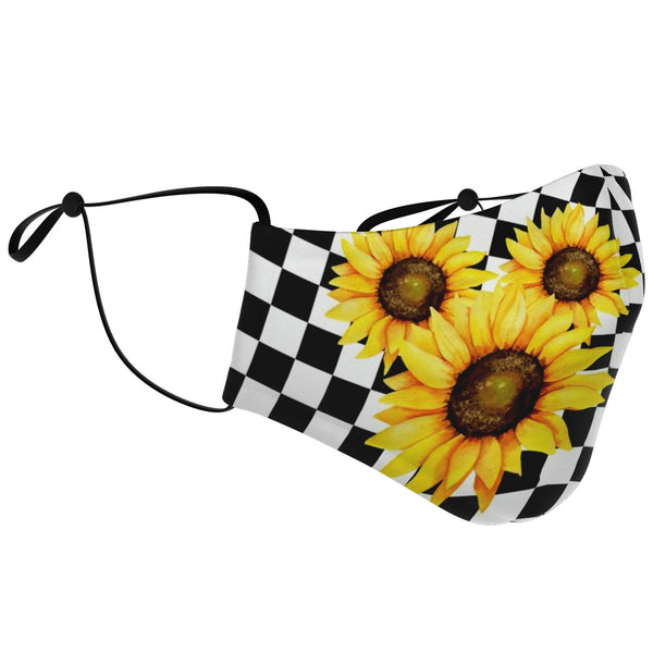 Sunflower Mouse Fashion Face Mask