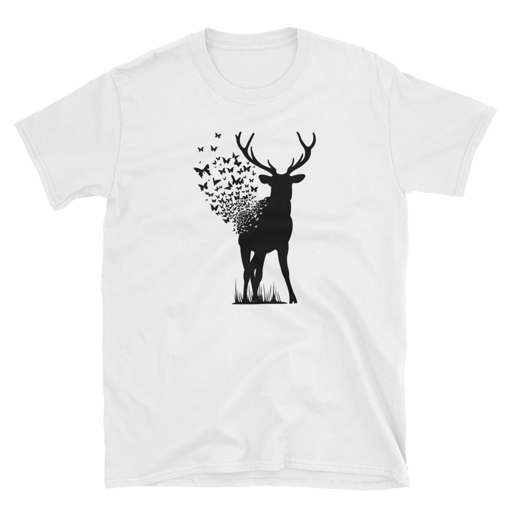 Deer Butterfly T-Shirt