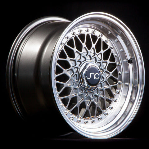 JNC Wheels 004 Gunmetal Machine Lip