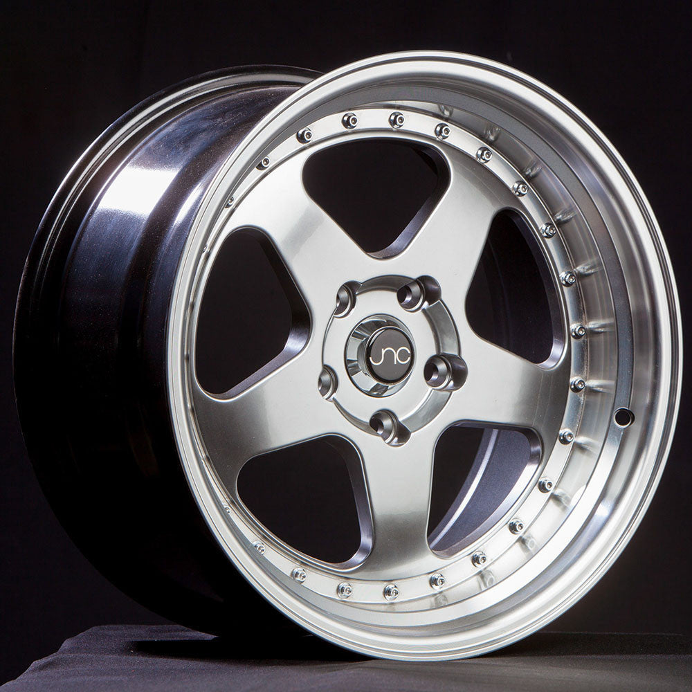 JNC Wheels 010 Hyper Black Machine Lip