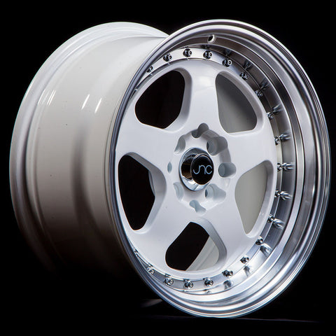 JNC Wheels 010 White Machine Lip