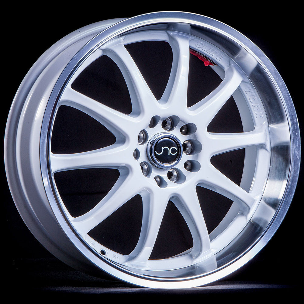 JNC Wheels 019 White Machine Lip