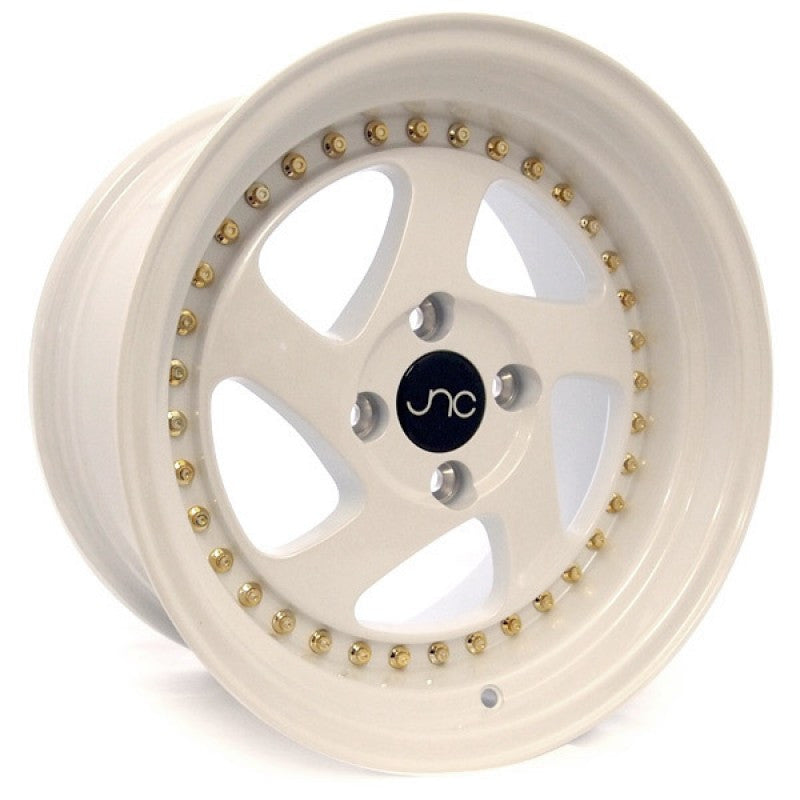JNC Wheels 034 Pearl White.