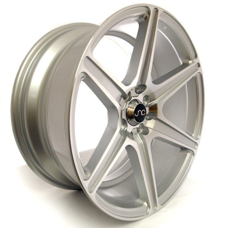 JNC Wheels 037 Silver Machine Face