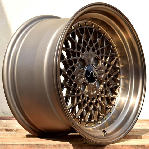 JNC Wheels 045 Machine Bronze.