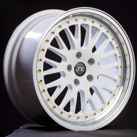 JNC Wheels 001 White Machine Lip.