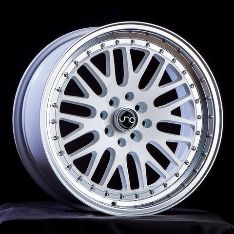 JNC Wheels 001 White Machine Lip