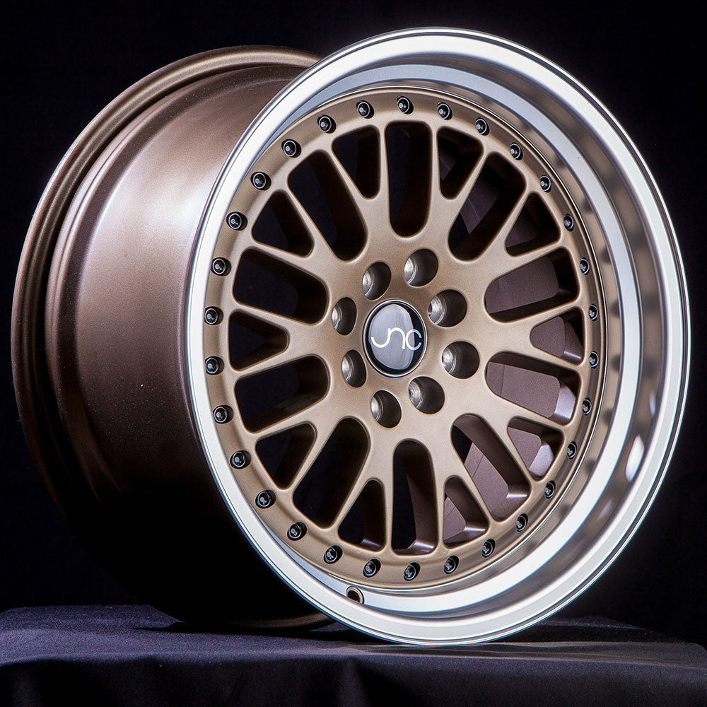 JNC Wheels 001 Matte Bronze Machine Lip