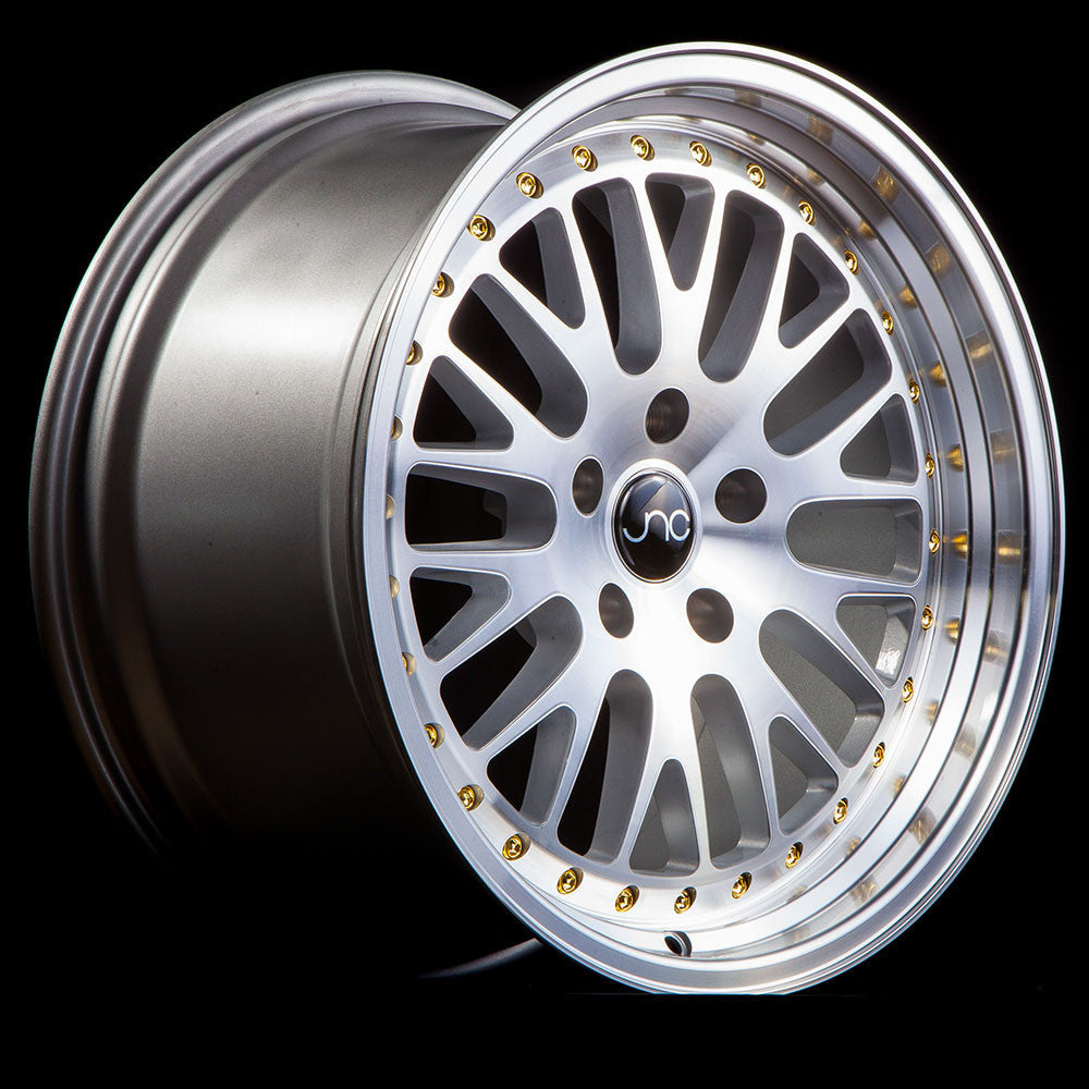 JNC Wheels 001 Silver Machine Face.