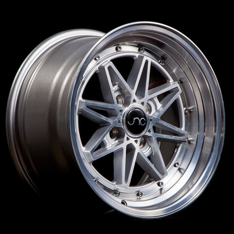 JNC Wheels 002 Silver Machine Face