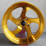 JNC Wheels 034 Transparent Gold