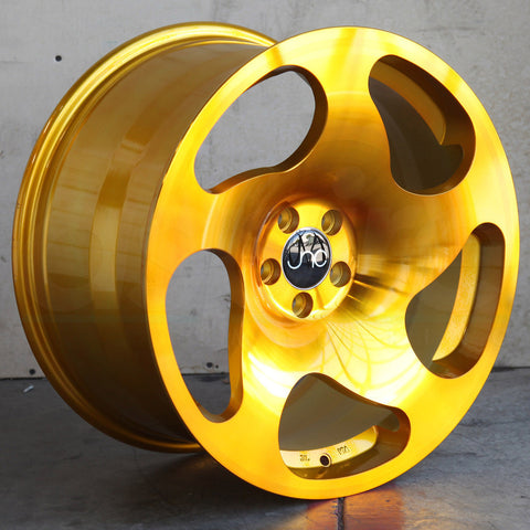 JNC Wheels 036 Transparent Gold