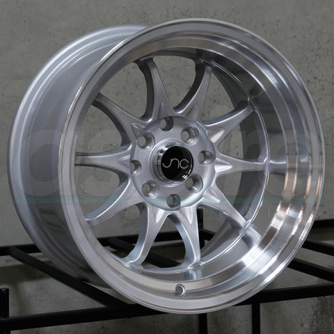JNC Wheels 003 Silver Machine Lip
