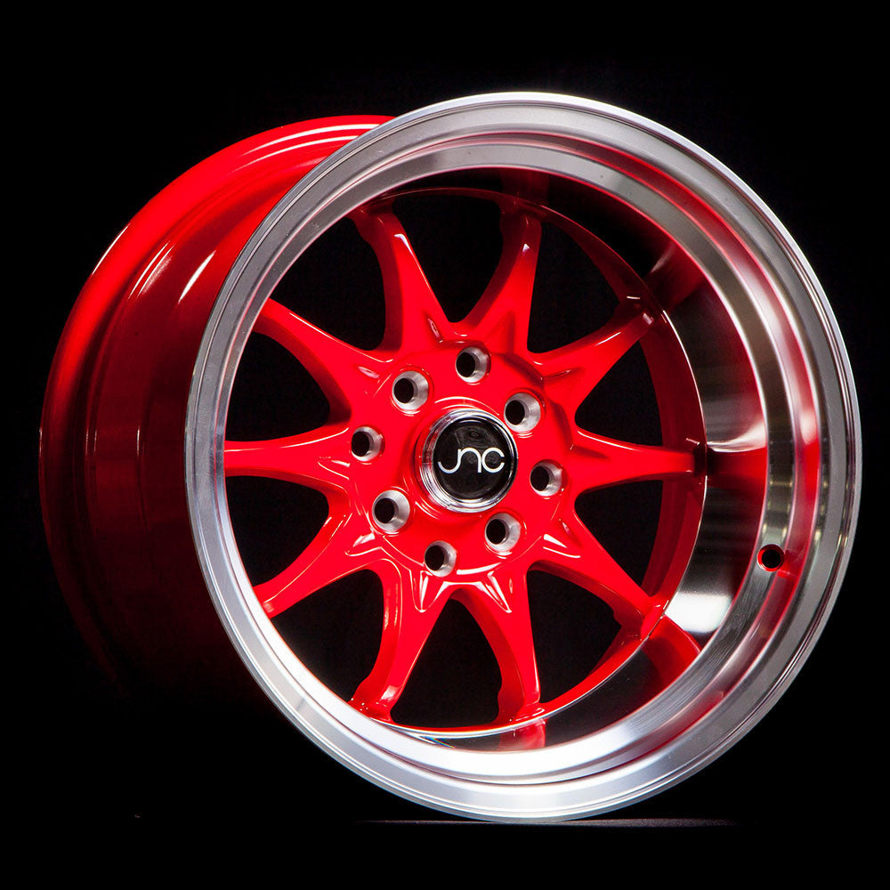 JNC Wheels 003 Red Machine Lip