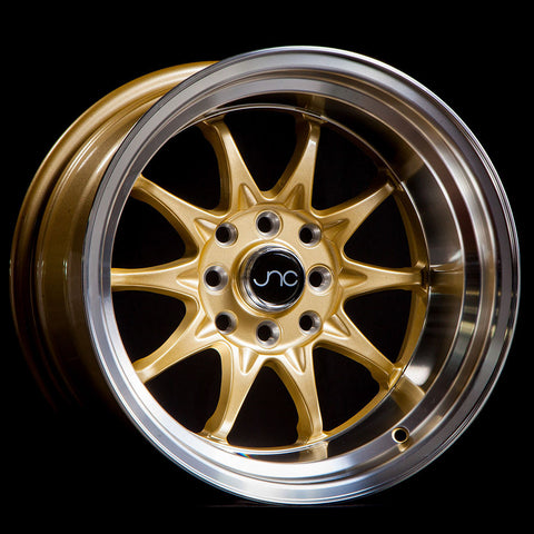 JNC Wheels 003 Gold Machine Lip