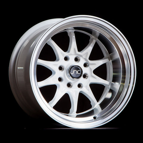 JNC Wheels 003 White Machine Lip