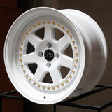 JNC Wheels 048 White.