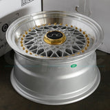 JNC Wheels 004S Silver Machine Lip.