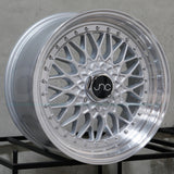 JNC Wheels 004 Silver Machine Lip