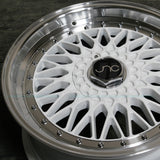 JNC Wheels 004 White Machine Lip