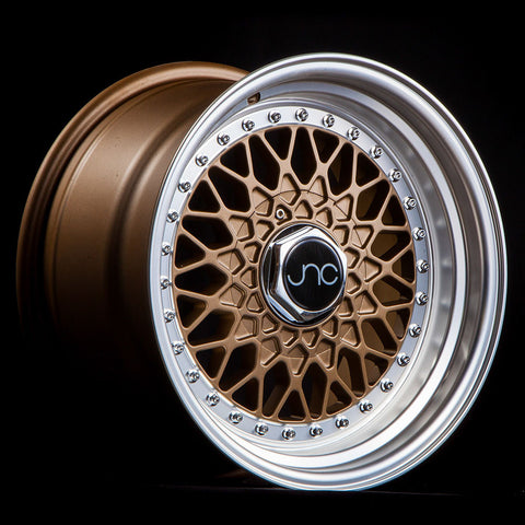 JNC Wheels 004 Matte Bronze Machine Lip