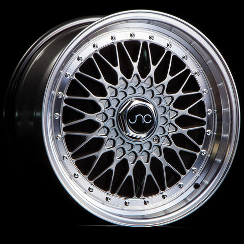 JNC Wheels 004 Hyper Black Machine Lip