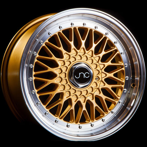 JNC Wheels 004 Gold Machine Lip
