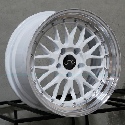 JNC Wheels 005 White Machine Lip