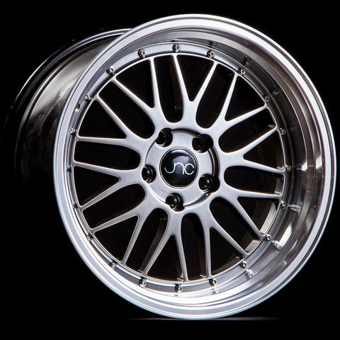 JNC Wheels 005 Hyper Black Machine Lip