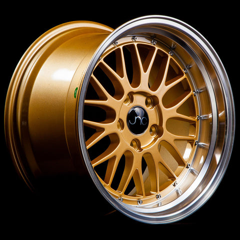 JNC Wheels 005 Gold Machine Lip