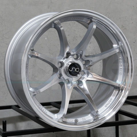 JNC Wheels 006 Silver Machine Face
