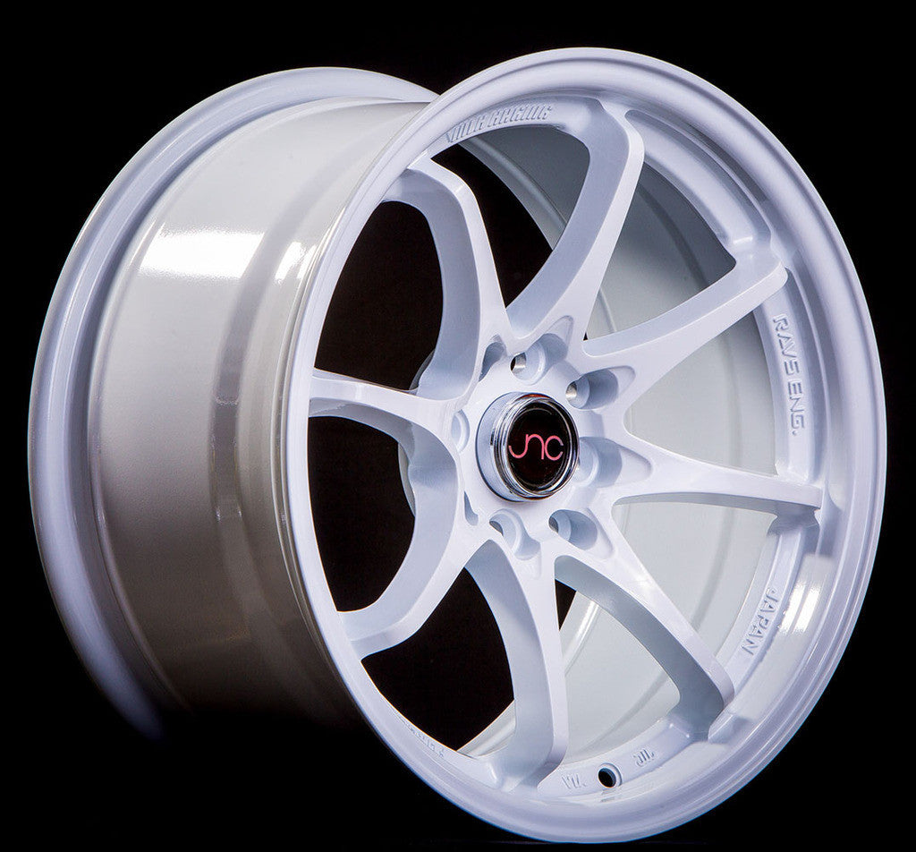 JNC Wheels 006 White