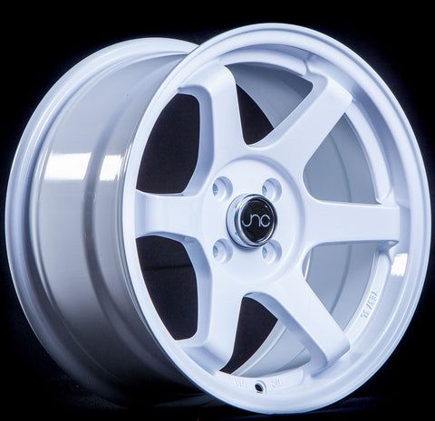 JNC Wheels 007 White