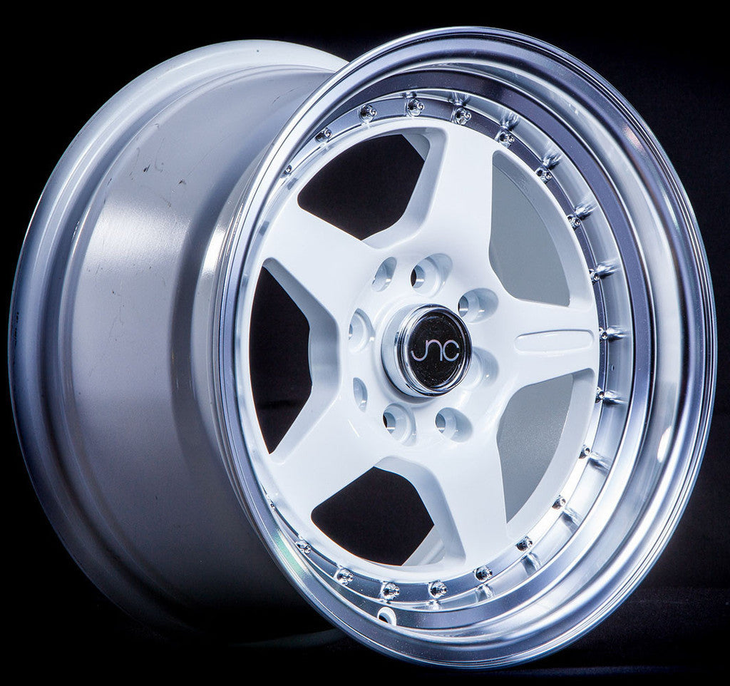 JNC Wheels 009 White Machine Lip